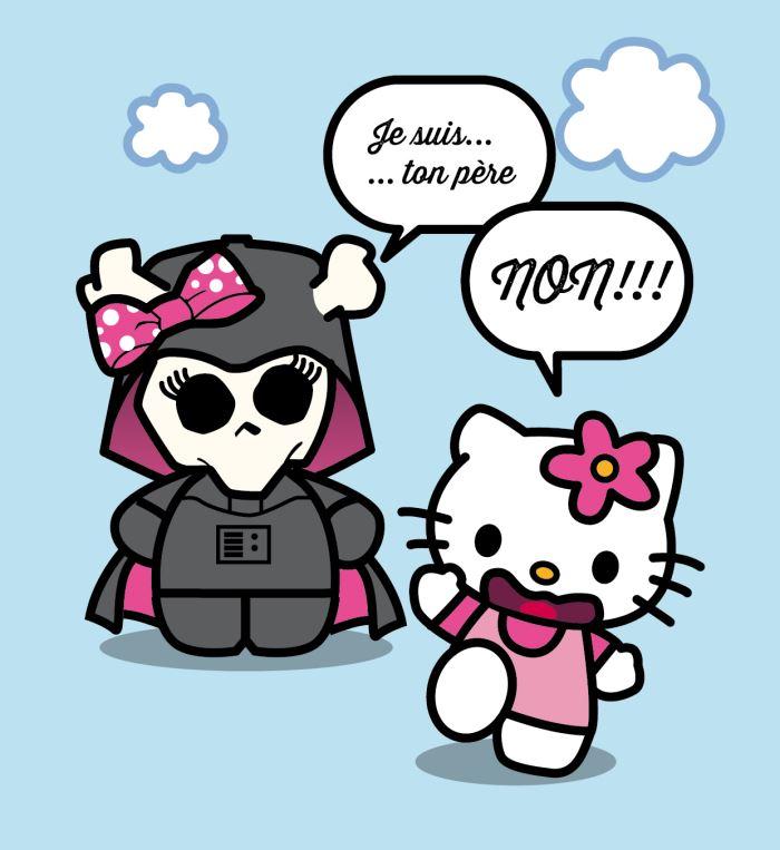 Kitty, c'est Lily, je suis ton père